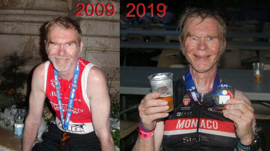 Nice Ironman Finisher 2009 to 2019