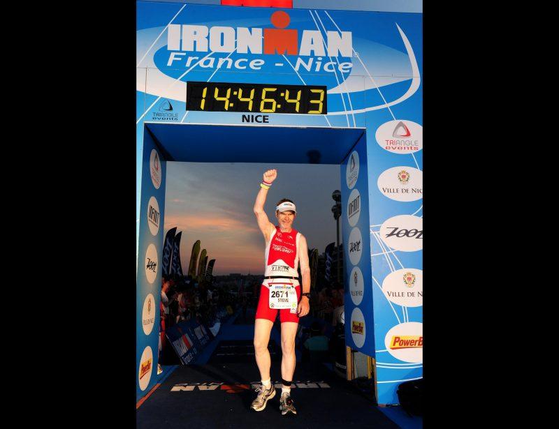 2009: Nice Ironman - Finishing