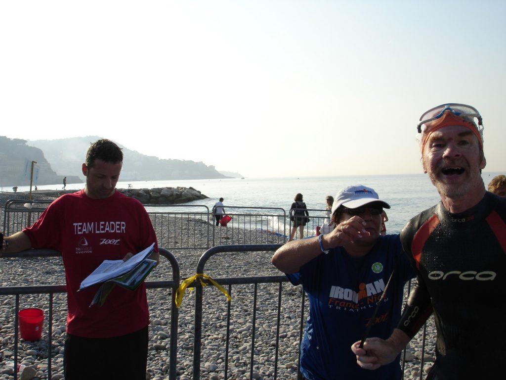 2009: Nice Ironman - Swim