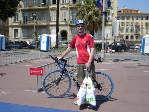 2010: Ironman Nice - Check In