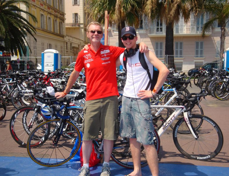 2012: Ironman Nice - Check In with Chris