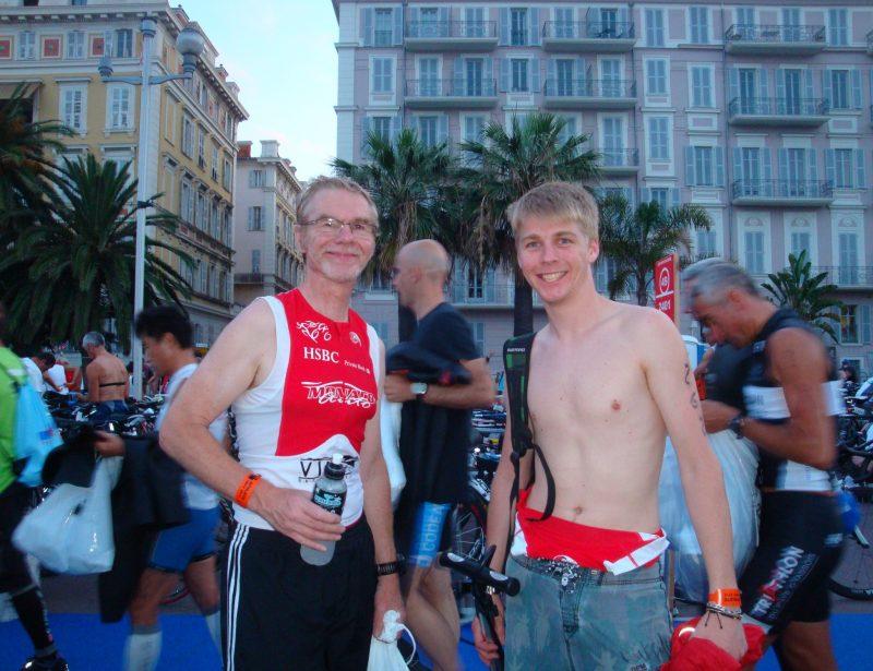 2012: Nice Ironman - Pre Race with Chris