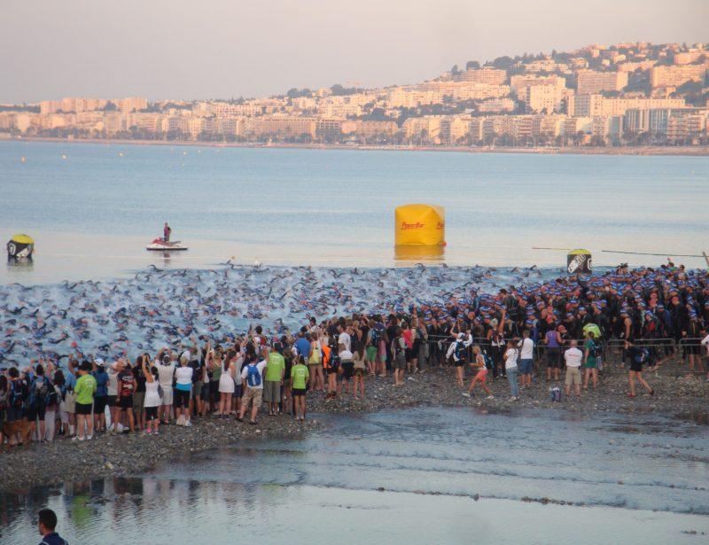 2012: Nice Ironman - Swim