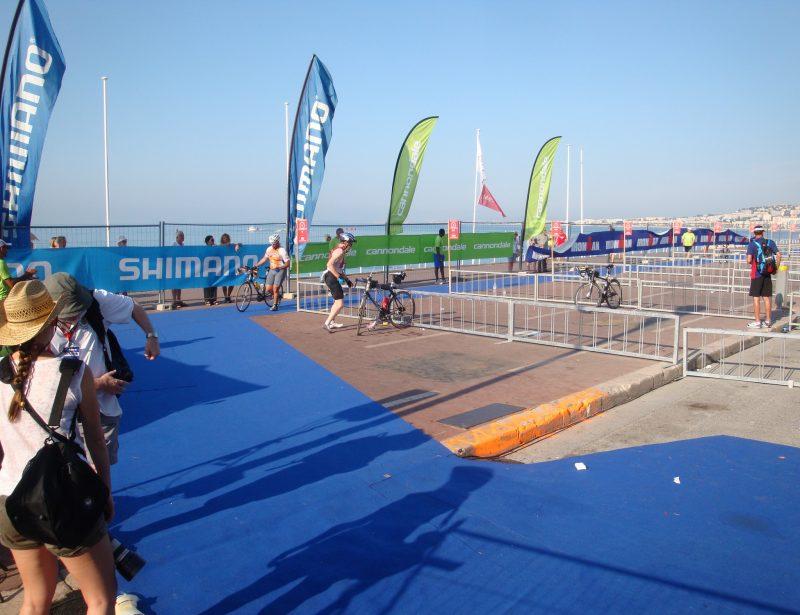 2012: Nice Ironman - Bike - Shoe Time