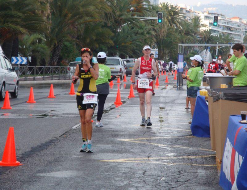 2012: Nice Ironman - Run
