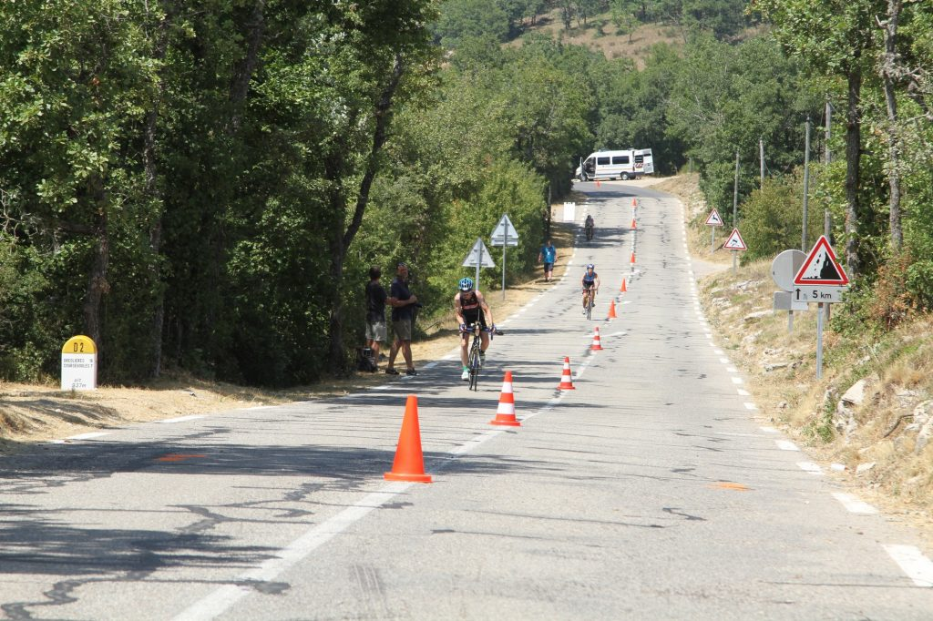 2017: Nice Ironman - Bike at the Col de Vence turnaround