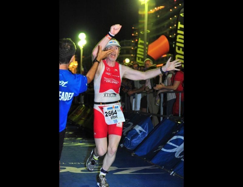 2010: Nice Ironman - Finishing